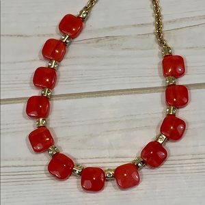 kate spade Jewelry - kate spade ♠️ red color block necklace NWOT